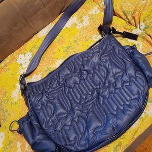 Juicy Couture Blue Puff Purse